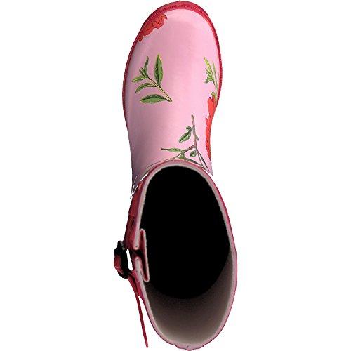 Jeu Caoutchouc Shoes Rose Bonbon Feuilleter Femme En Gosch Bottes 7Rx8nwHnq