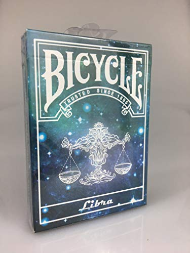 Bicycle Constellation Series - Libra - Waage Limited Edition Playing Cards, Pokerkarten + 3 Look and Feel - Karten - Libra-serie