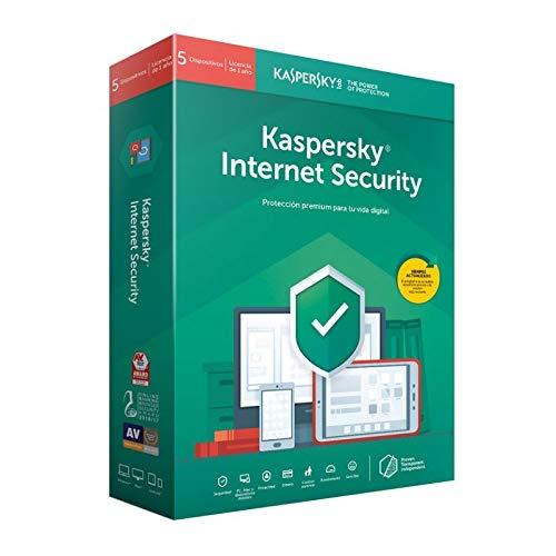Kaspersky Internet Security 5 dispositivos | 1 año | 2020
