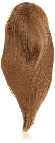 BiYa Hair Elements Perruque 3/4 Cheveux longs, raides et dégradés