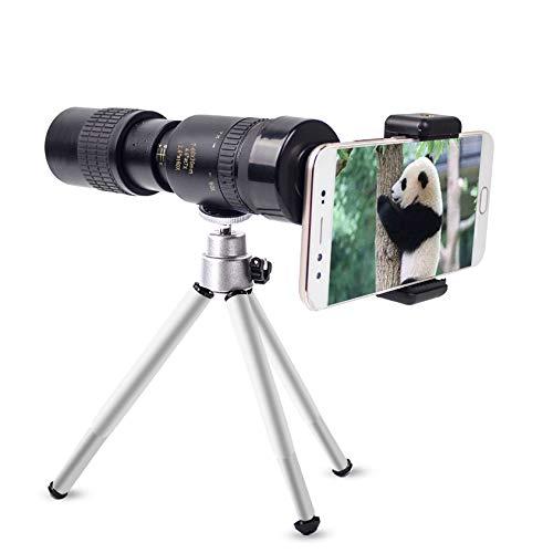 DishyKooker - Telescopio monocular cámara teléfono