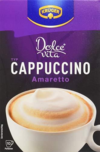 KRÜGER Dolce Vita Cappuccino Amaretto, 8er Pack (8 x 0.15 kg)