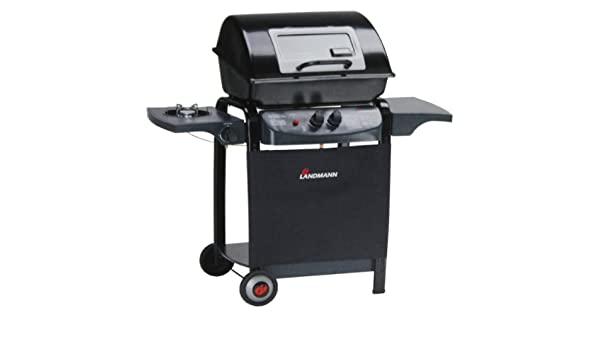Landmann Gasgrill Compact : Landmann gasgrill grill mit seitenbrenner gas grillwagen