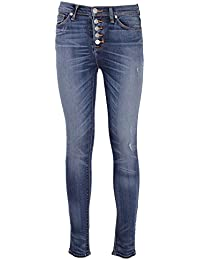 Hudson Femme WH4069DLQDISHCIARA Bleu Coton Jeans