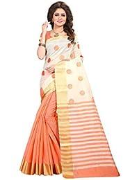 TRUNDZ Women's Pure Printed Cotton Silk Printed Saree Partywear/Wedding Saree/Casual Wear Saree With Blouse Piece