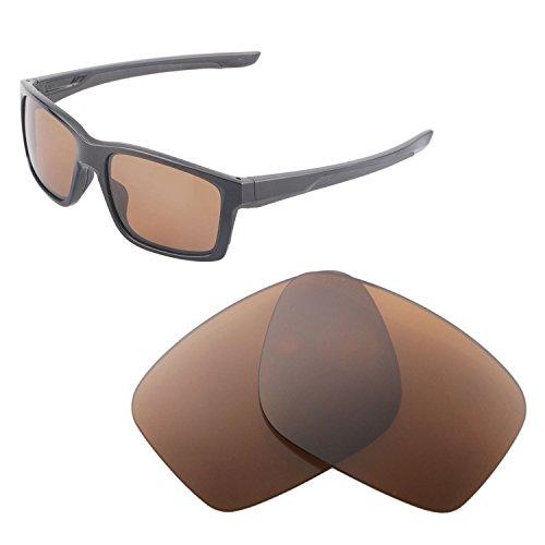 Walleva Ersatz Linsen für Oakley mainlink-mehrere Möglichkeiten, Brown - Polarized
