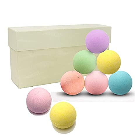 Bath Bombs Gift Set by SUNZEALLY- Pack of