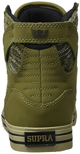 Supra Skytop, Haute Sneakers Homme Grün (Olive Multi-Sage)