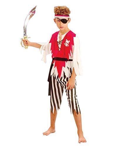 der-Kostüm Pirat, 8-10 Jahre) (Shipmate Piraten Kostüme)