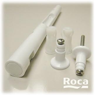 Roca – Conjunto bisagra asiento inodoro dama retro acetalica blanco