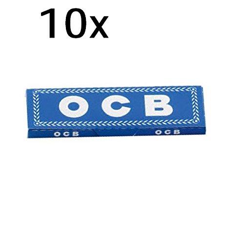 Papier à rouler OCB Bleu 10 Cahiers de á 50 feuilles