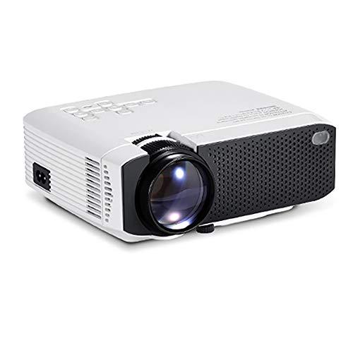H&T LED-Videoprojektor, Android Smart-Projektor mit USB/HDMI-Unterstützung 1080P Film für Outdoor/Home Cinema Entertainment 50 Home Cinema