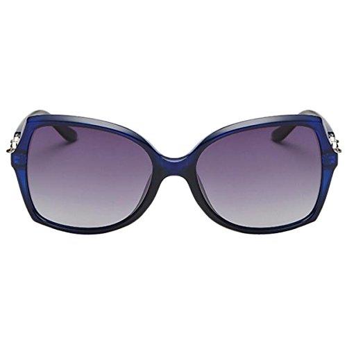 Hersteller Großhandel Große Trendfarbe Fahrerin Spiegelantrieb Spiegel Sonnenbrille Polarisierte Sonnenbrille 147 Bogen,145mm-BlueBox
