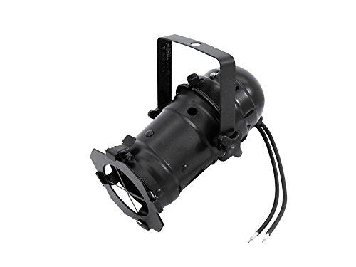 Par16 Reflektor (showking - PAR-16 Scheinwerfer KHEB 12V / max 35W, Sockel GX-5,3, für Leuchtmittel mit MR-16 Reflektor, schwarz - Spot Strahler PAR16 Bühne, Theater)