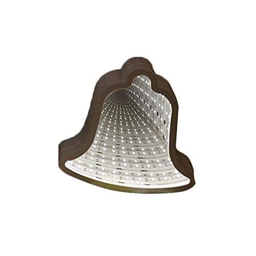 [LED-Licht] -Clearance Deals-Weihnachtsbaum-Stern-Herz-Zeit-Tunnel LED-Licht Zimmer dekorative Schreibtisch Tischlampe, Weihnachtsbeleuchtung -