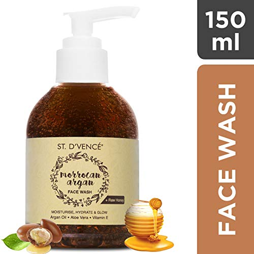 ST. D'VENCE Moroccan Argan Oil and Raw Honey Face Wash