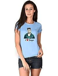 I Love Zayn One Direction Blue Girls T-shirt