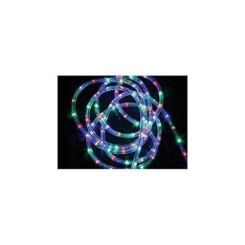 LED - Lichtschlauch 10 Meter Mehrfarbig mit 8 Lichtspielen