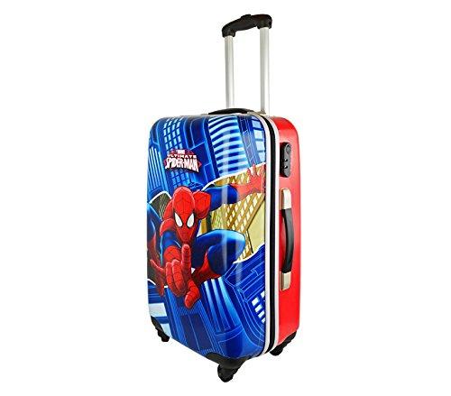 41lgqGAVmlL - 2451551 Maleta trolley rigida en ABS equipaje de mano SPIDERMAN 42x67x24cm