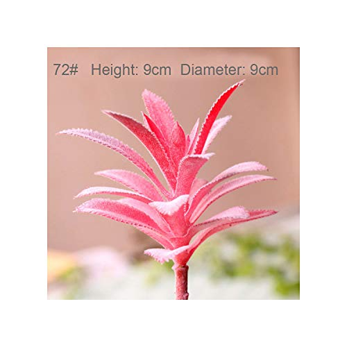 Lou Chapman Mini Artificial Sukkulenten Grün Verschiedene Kunststoff-Pflanzen Home Garten Ornament Dekoration Gefälschte Pflanzen, Fr Lange sie LAN