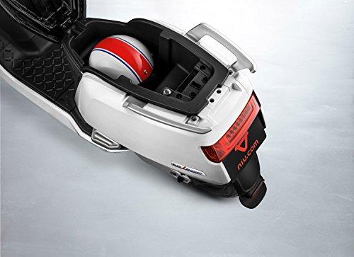 NIU N1S Elektroroller E-Scooter - Panasonic Li-Ion Akku - 80 km Reichweite - Bosch Motor - 45 km/h - Zweisitzer // angeboten von RollingBull® (schwarz) - 7