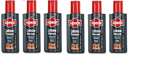 Alpecin Coffein-Shampoo C1 Haar Energizer (250 ml) - Packung mit 6 -