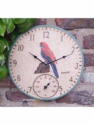outdoor-garden-rosella-handpainted-bird-clock