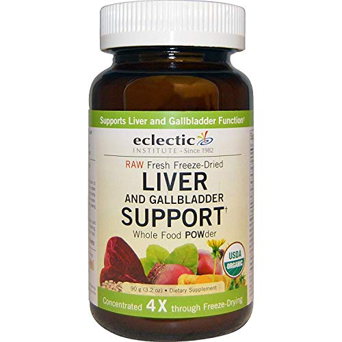 Eclectic Institute, Organic Liver and Gallbladder Support, Whole Food Powder, 3.2 Oz (90 G) - 2Pc