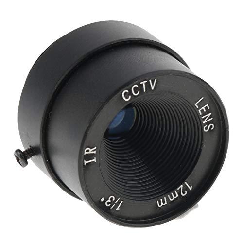 Baoblaze Fixed IR CCTV Objektiv, F1.2 für Sicherheit überwachung Kamera - 12mm 12 Mm Fixed Iris