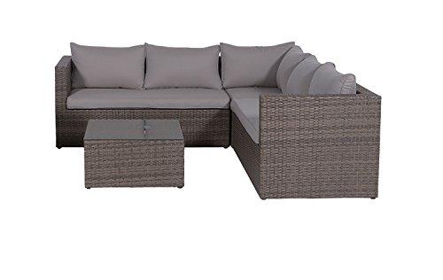 Garden Impressions 03620GY Lounge Set, New Kubu, 211 x 211 x 64 cm