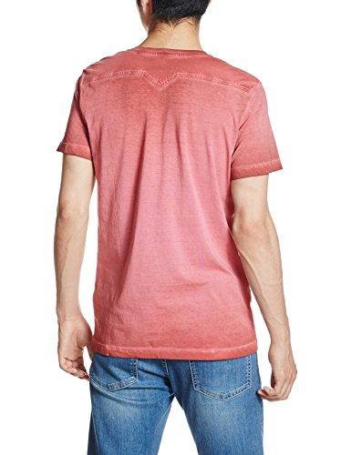 Diesel Herren T-Shirt T-Diego-Pearls Rot