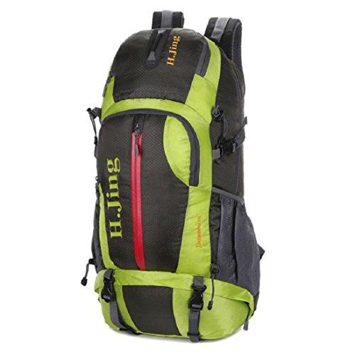 Z&N Capacità 30-40L Backpack Borsa A Tracolla Da Viaggio All'Aperto All'Aperto Borsa Sportiva Fitness Borsa Per Studenti Zaino Di Uso Quotidiano Anti-Strappo Tracolla Regolabile C 30-40L E