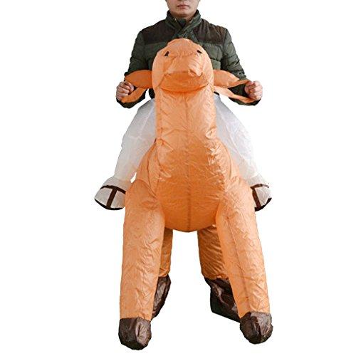 Unbekannt MagiDeal Aufblasbare Kamel Kostüm Erwachsene Cosplay Kostüm Fatsuit Fett Anzug für Party