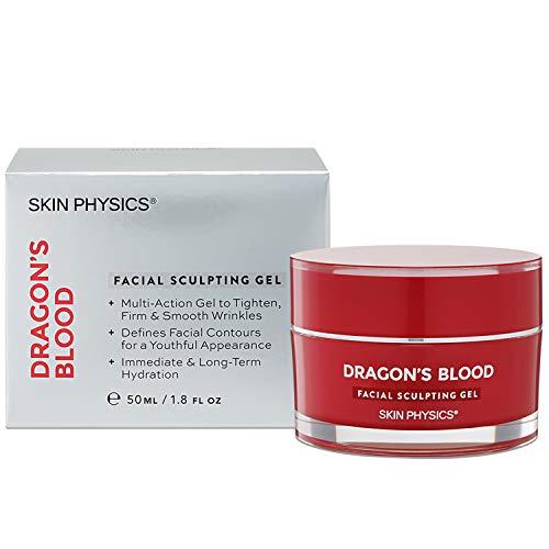 Anti-Aging-Gesichtscreme. Fühlen Sie den Unterschied mit Dragons Blood Facial Sculpting Gel. Effektiver Faltenfüller. Gesicht/Hals festziehen. Ideal für müde, alternde Haut. 50 ml / 1,8 Fl.Oz