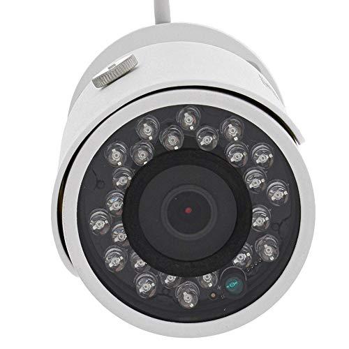 BURG-WÄCHTER WLAN-Kamera mit Festobjektiv, 90 Grad Blickwinkel, Infrarot, BURGcam BULLET 304, Weiß