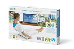 Idea Regalo - Wii Fit U + Balance Board + Fit Meter, Verde