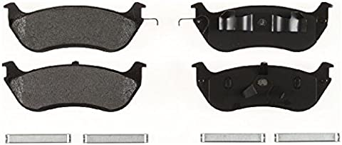 1Set of 4Ceramic Brake Pads Rear for Ford Crown Victoria, Lincoln Town Car & Mercury Grand Marquis Year of Manufacture