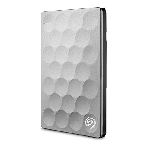 Seagate Backup Plus Ultra Slim 1TB External Hard Disk Platinum Price in India