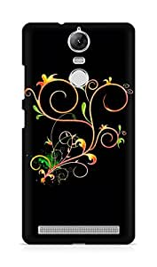 Amez designer printed 3d premium high quality back case cover for Lenovo K5 Note (Abstract Dark 23)