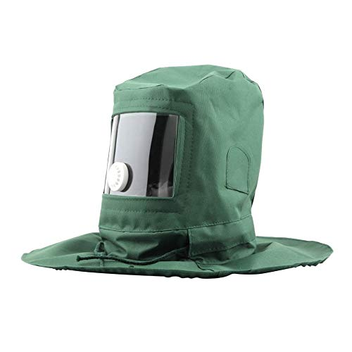 Newgreenca Strahlen Hood Sand Schleifkorn Schuss Sand Blaster Maske Antistaub-Ausrüstung