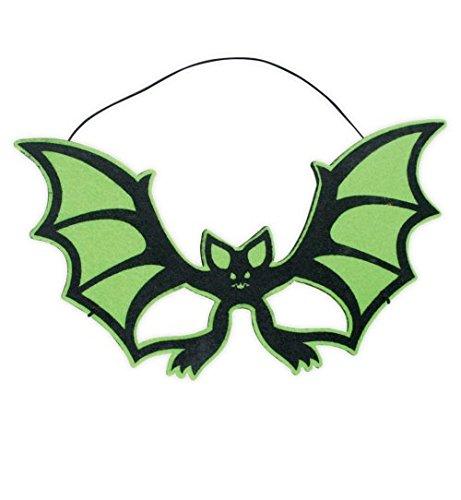 Und Kostüm Bella Edward - Halloween-Maske Halloween Fledermaus Maske Augenmaske 3 Modelle Fasching Accessoire