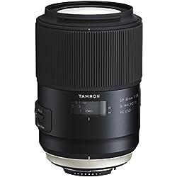 Tamron SP F/2.8 Di MACRO 1:1 VC USD Objectif 90 mm pour Nikon Appareil photo Noir