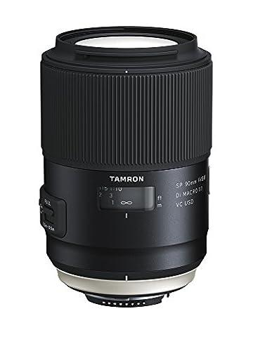Tamron F017N SP 90mm F/2.8 Di Macro, 1:1 VC USD Nikon Kamera-Objektive