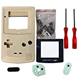 Coque gameboy color Shell, eJiasu Full Remplacer les pièces logement Coque Shell...