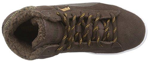Puma Puma 1948 Mid Marl, Baskets hautes mixte adulte Marron - Braun (chocolate brown-chocolate brown 01)