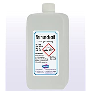 Algin Natriumchlorit 25% 1000ml HDPE Flaschen