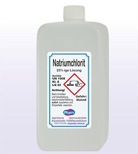 Algin Natriumchlorit 25% 2x1000ml HDPE Flaschen -