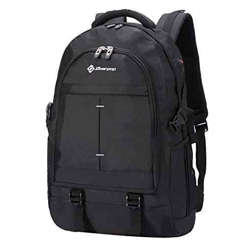 Soarpop Zaino per notebook, impermeabile, ad alta capacità, adatto per viaggi/scuola/attività all'aperto