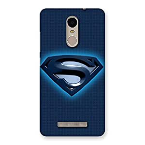 Blue Day Back Case Cover for Xiaomi Redmi Note 3