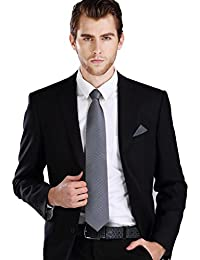 Landisun Herren Krawatten Set Solid